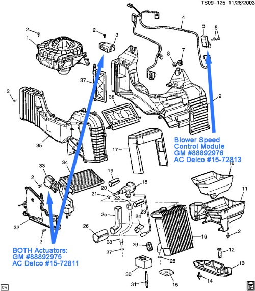 small resolution of 2003 chevy suburban air conditioning