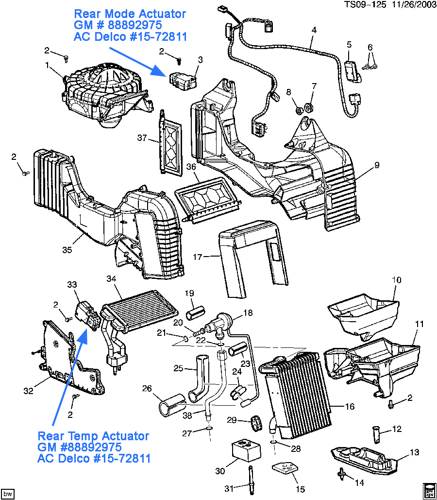 2006 Chevy Trailblazer Wiring Diagram Heater Core. Engine