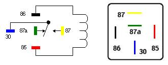 5 Terminal Relay Diagram, 5, Free Engine Image For User