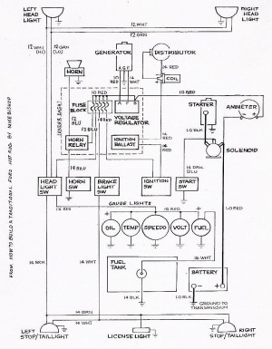 Basic Ford Hot Rod Wiring Diagram