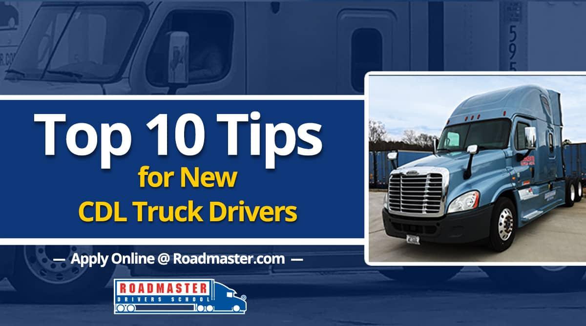 Roadmaster truck driving