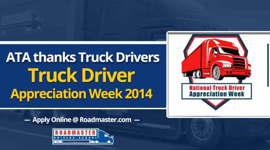 ATA Thanks Truck Drivers (VIDEO) | Truck Driver Appreciation Week 2014