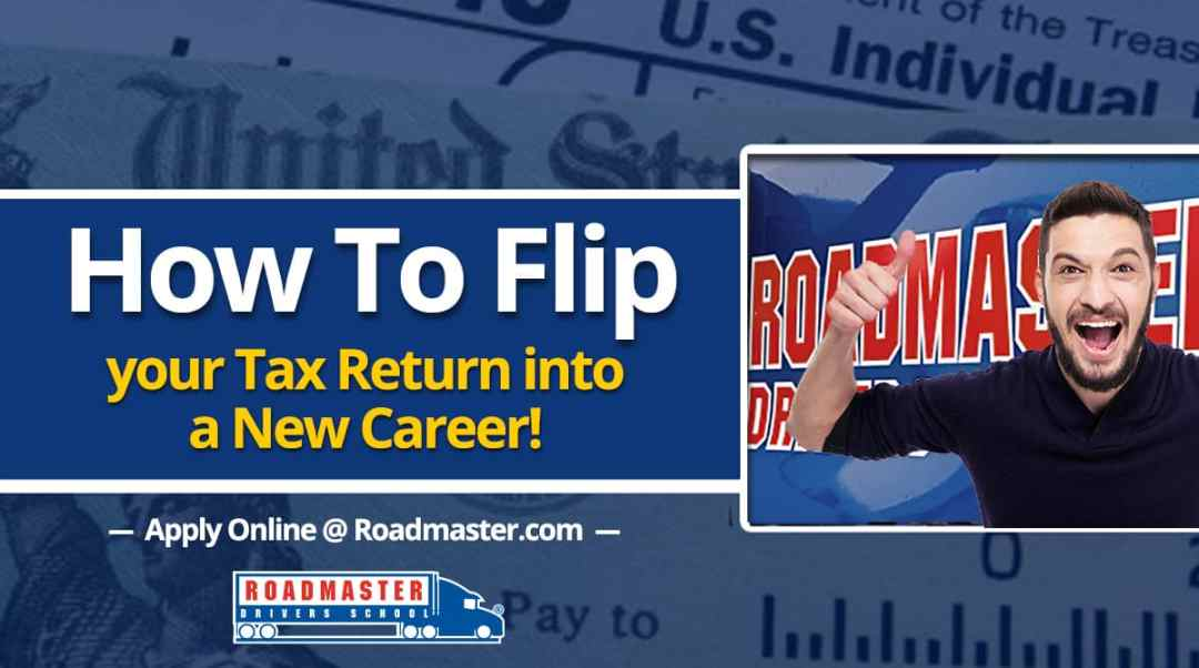 How To Flip Your Tax Return Check Into A New Career
