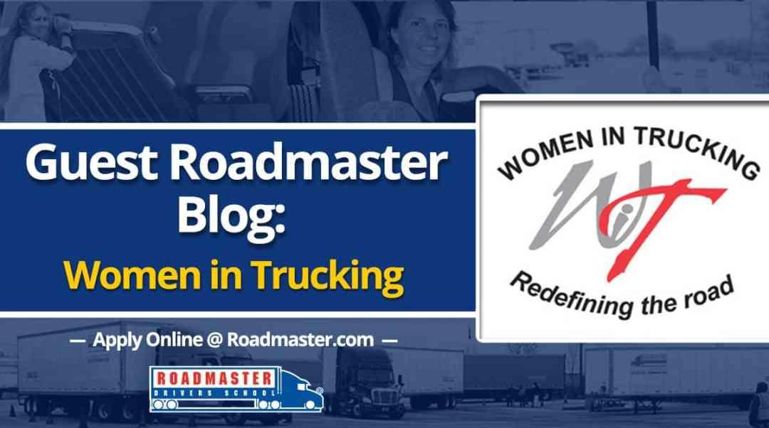 Guest Blog: Women In Trucking