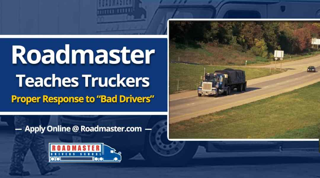 roadmaster teaches truckers proper response to bad drivers roadmaster drivers school. Black Bedroom Furniture Sets. Home Design Ideas