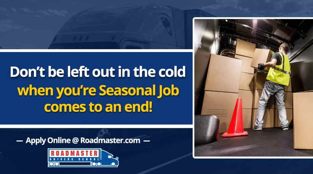 Don't Be Left Out in the Cold When Your Seasonal Job Comes to an End