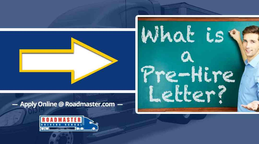 What is a Pre-hire Letter?
