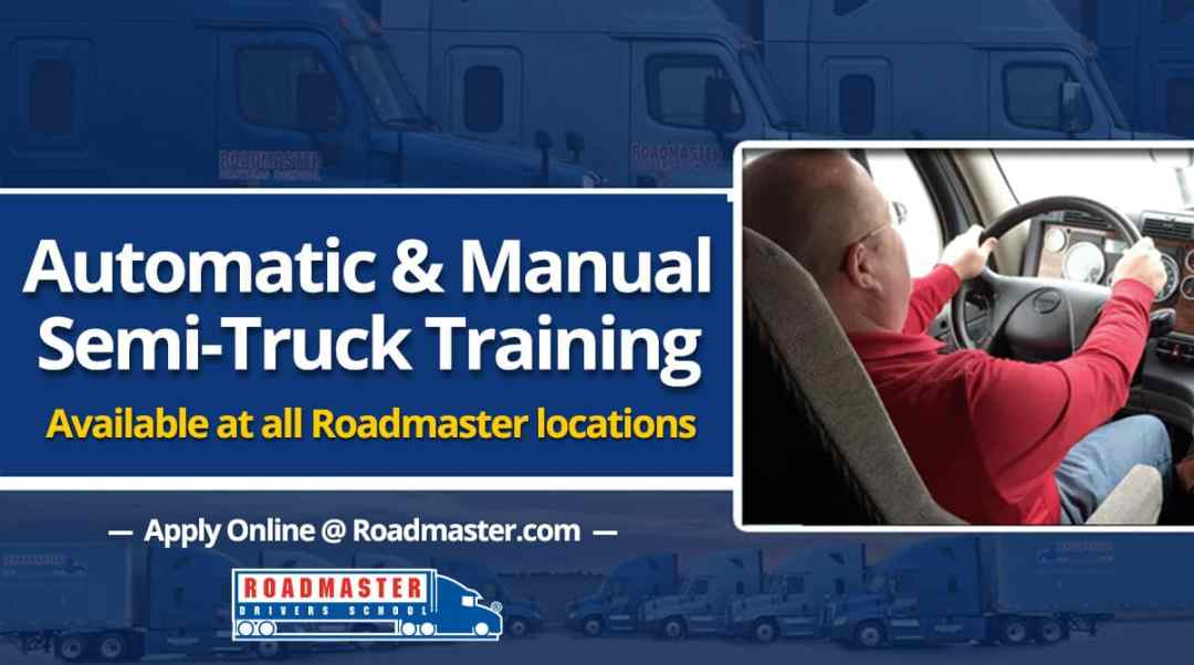 Automatic Transmission Semi Truck Training Now Available
