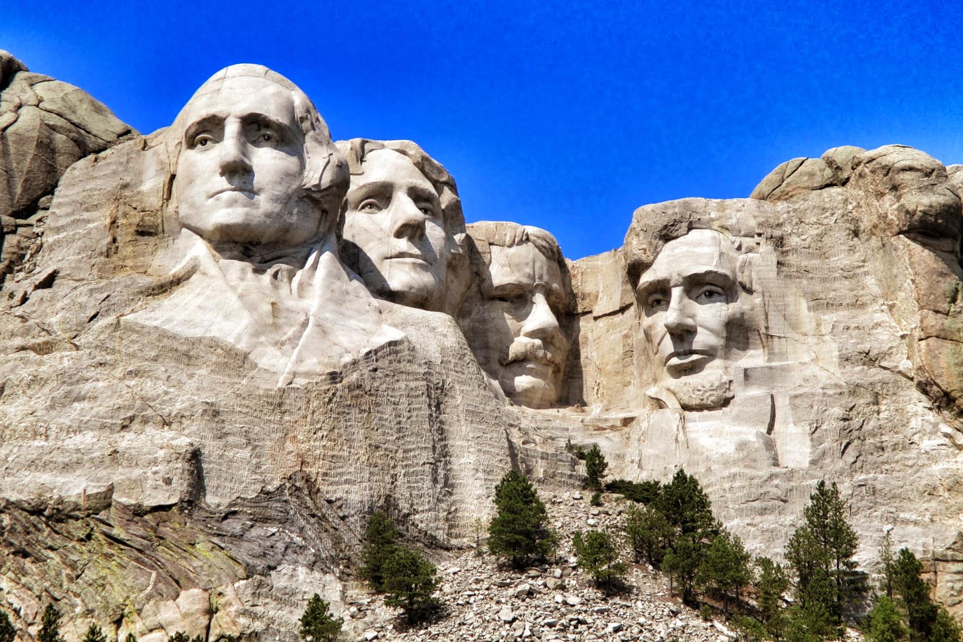 Description Of Mount Rushmore