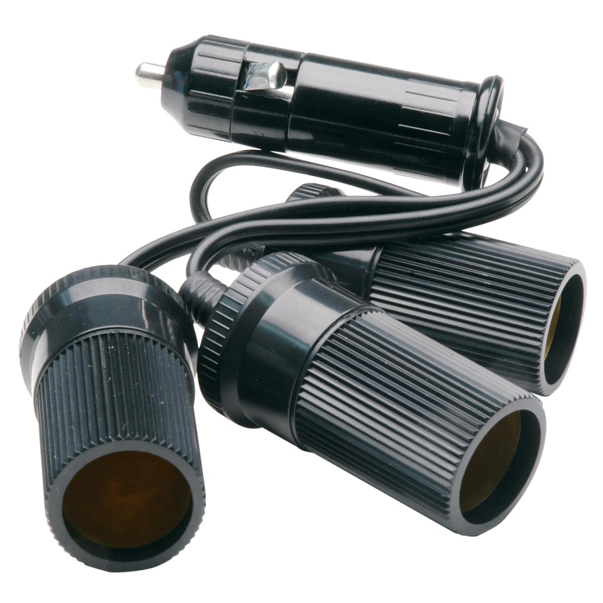 12 volt cigarette lighter wiring diagram delco remy cs130 alternator truckspec 3 outlet adapter with