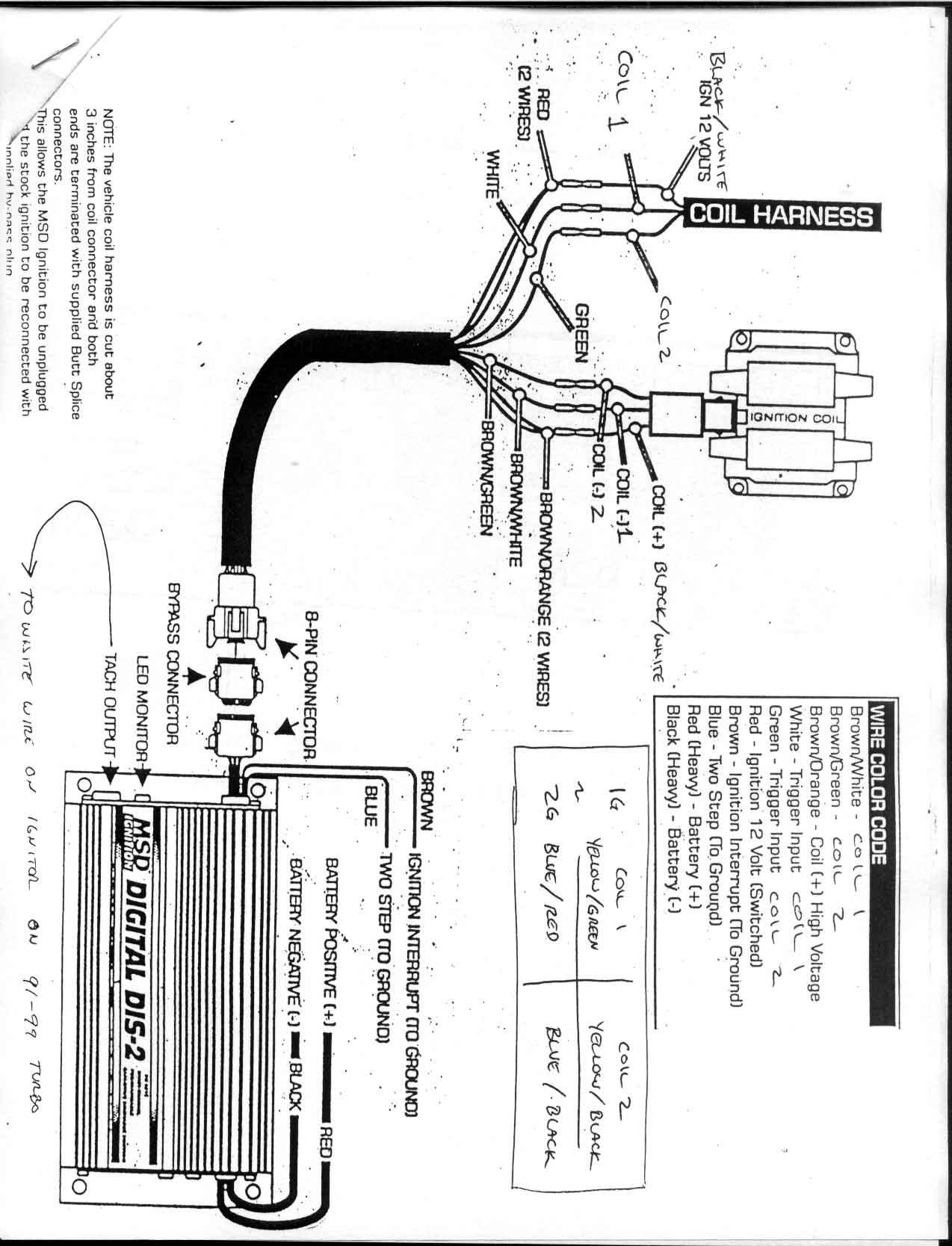msd dis 2 wiring diagram kia spectra stereo trouble hooking up dsmtuners