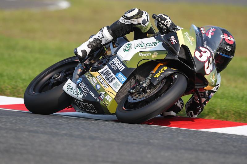 Kyle Wyman (33). Photo by Brian J. Nelson, courtesy KWR Ducati.