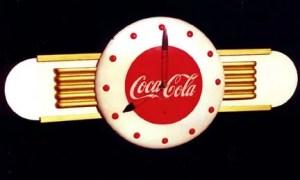 Coca Cola diner clock, Vintage Advertising Neon Clocks