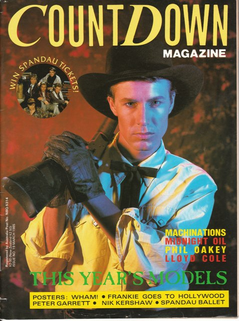 Countdown Magazine - James Freud cover