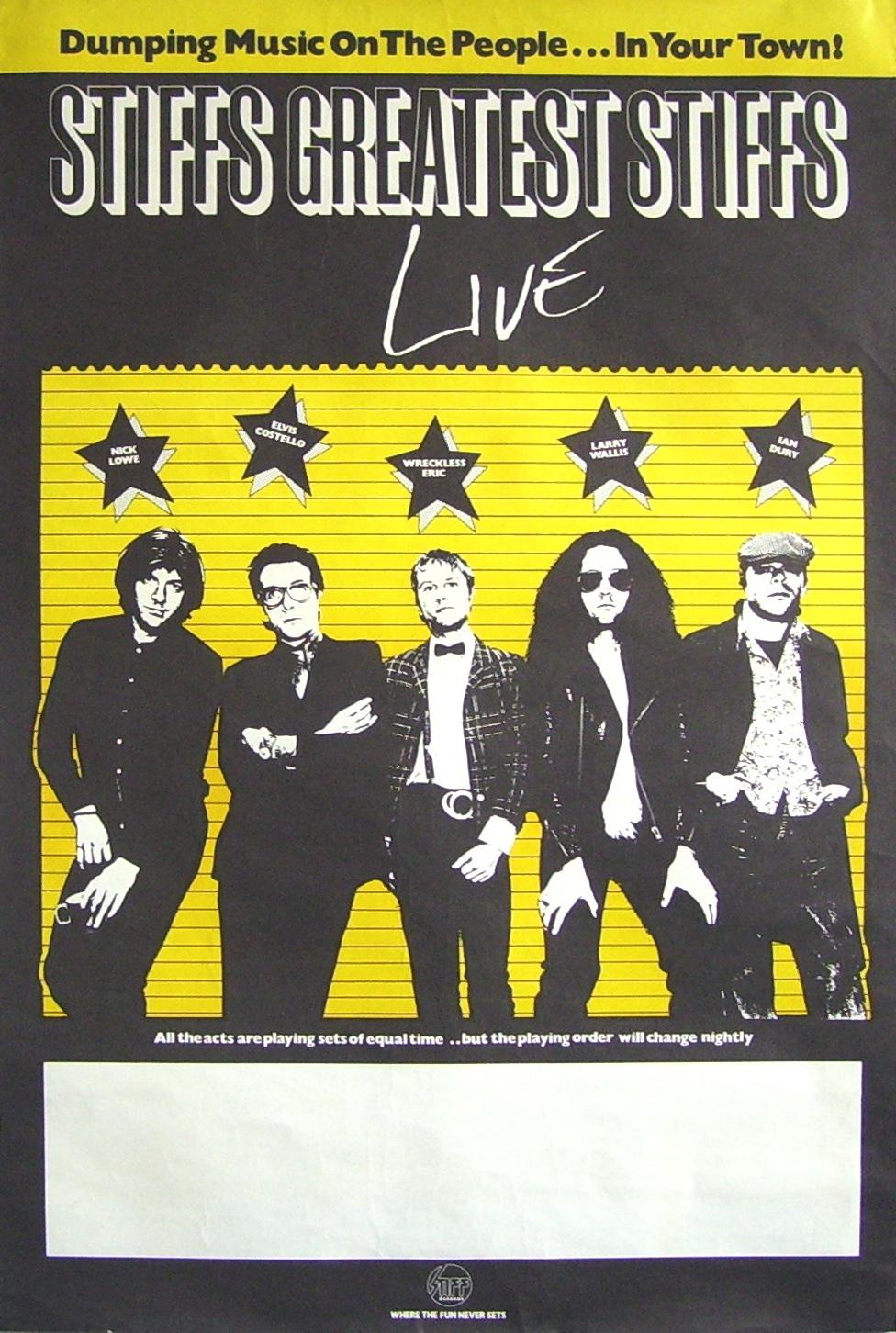 Stiff's Greatest Stiffs Live poster