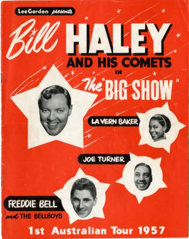 Bill Haley tour 1957