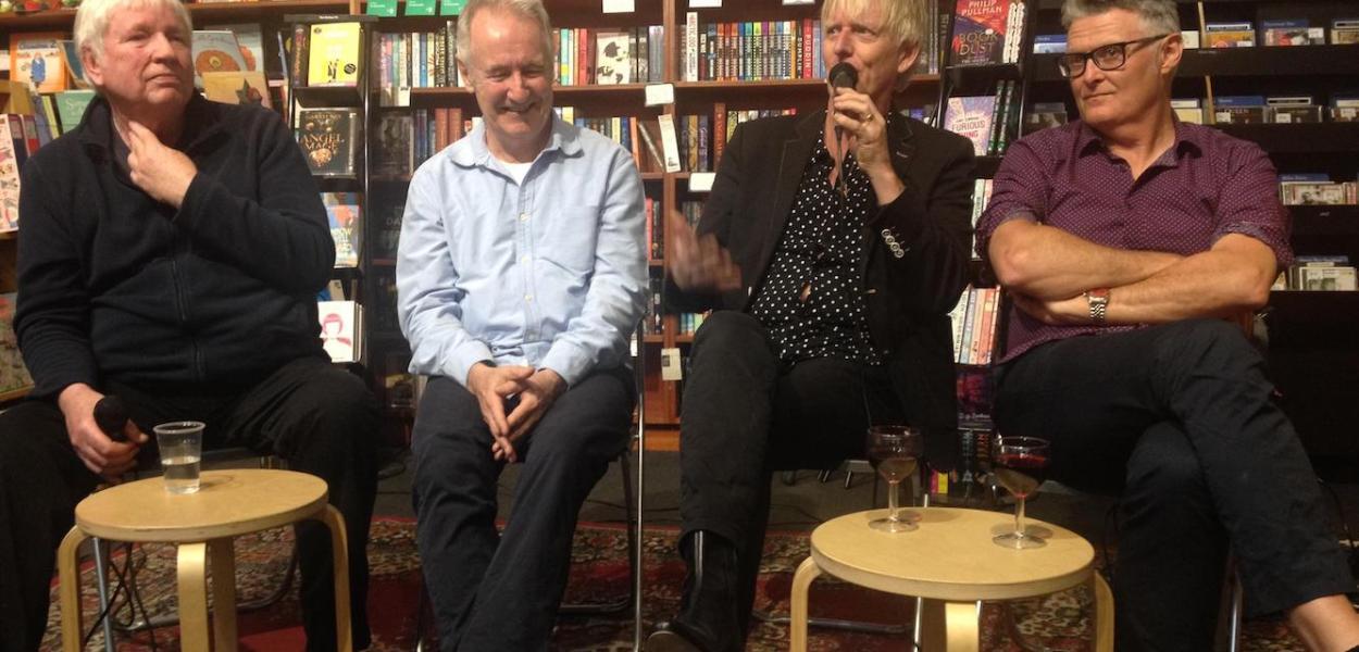 John Dowler, Donald Robertson, Phill Calvert and Pierre Sutcliffe in St Kilda