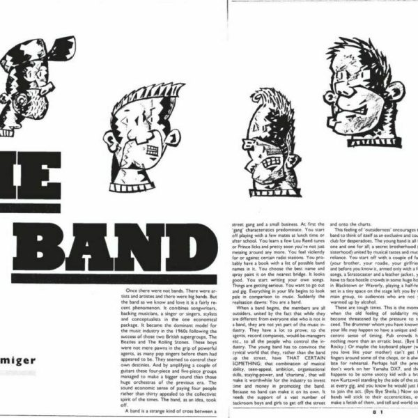 The Band spread