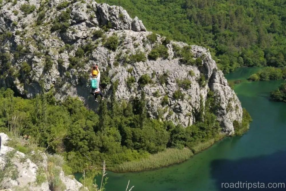 Kroatien Geheimtipp | Ziplining und Omis Strand