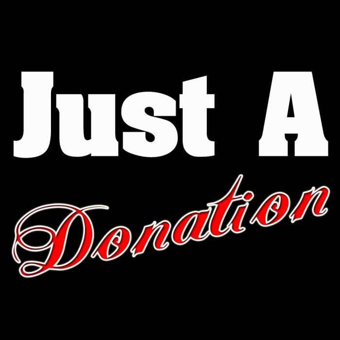 Just A Donation