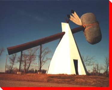 World's Largest Tomahawk - Cut Knife, Saskatchewan