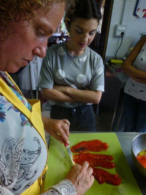 Cooking in Piemonte