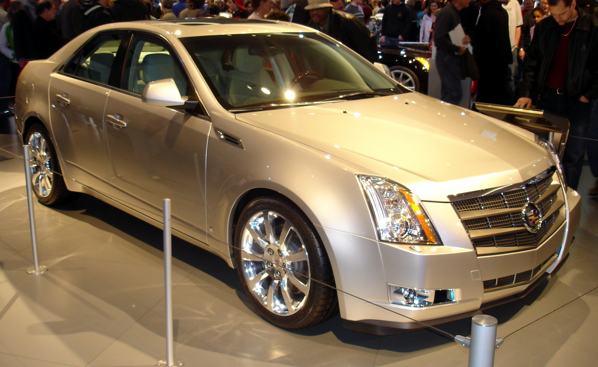 hight resolution of cadillac cts silver