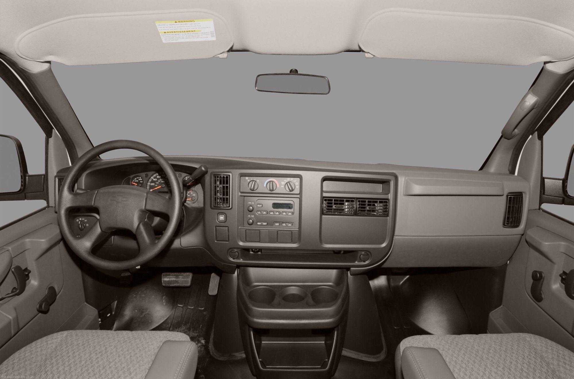 hight resolution of chevrolet express interior