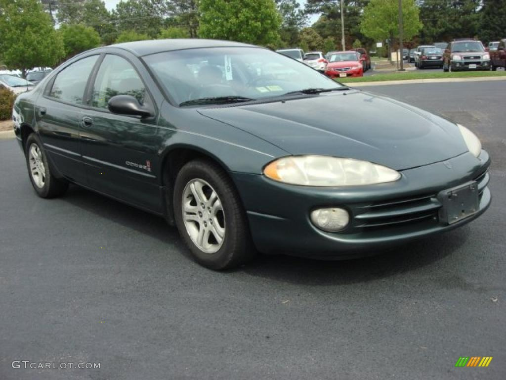 hight resolution of dodge intrepid es green