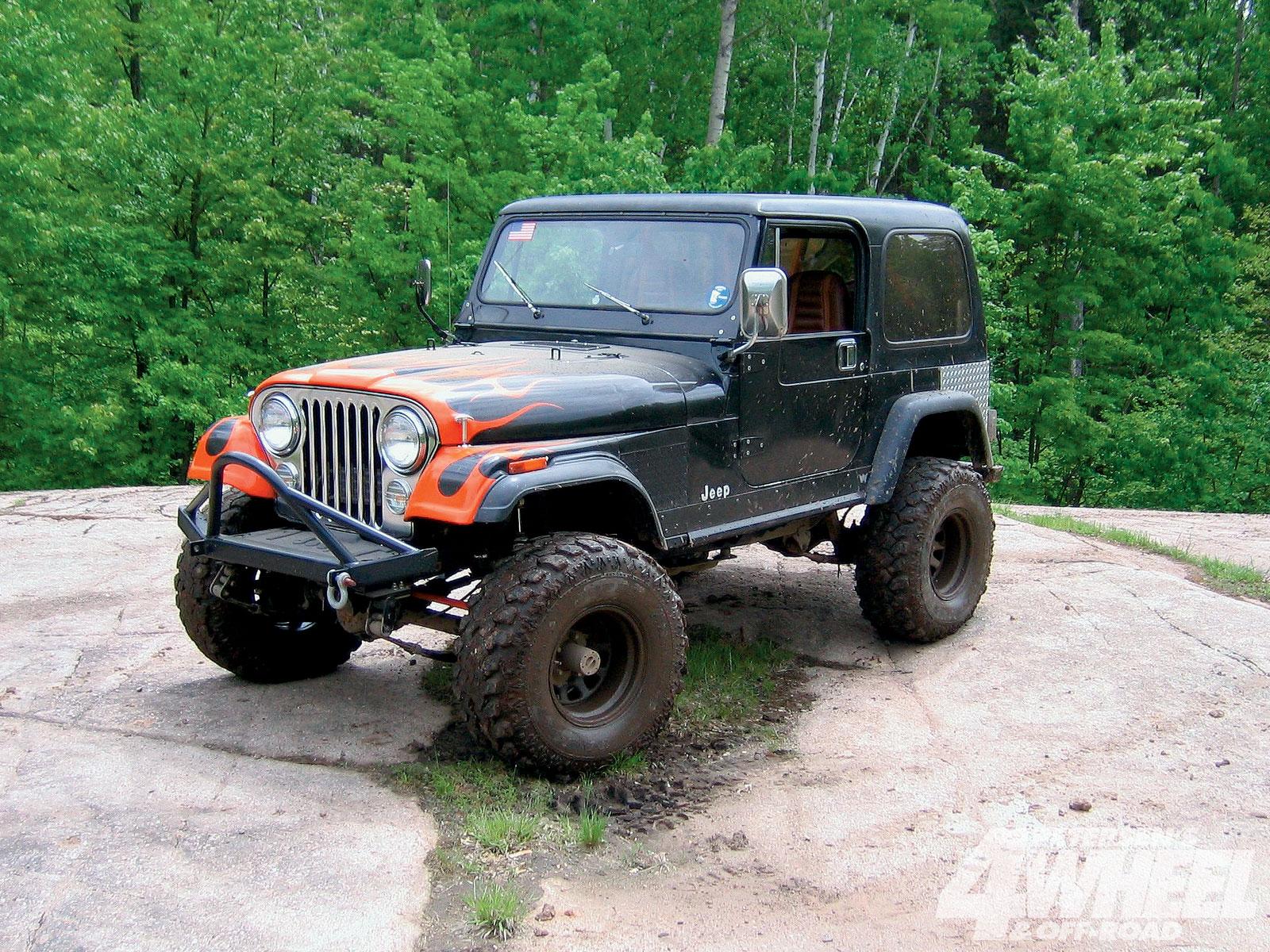 hight resolution of jeep cj 7