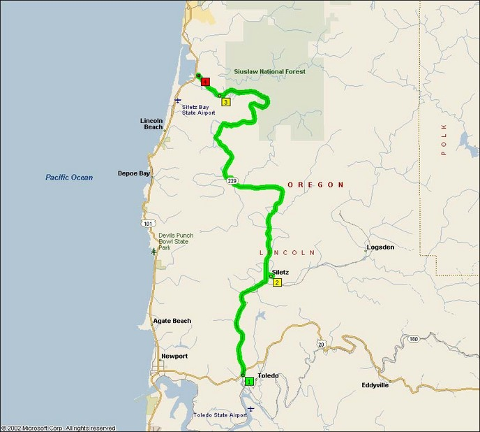 Oregon Route 229 The Siletz Highway Motorcycle Roads