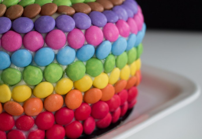 A Birthday Rainbow Cake Road To Pastry