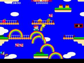 Rainbow Islands (Taito, 1987) a seemingly frothy platformer, actually filled with cunning secrets