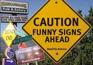 Funny Signs Ahead