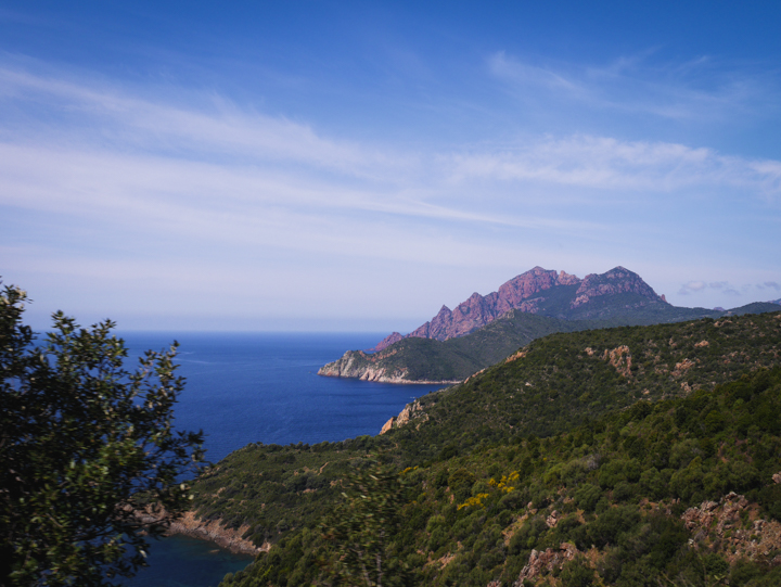 Corsica - road Calvi to Porto- 5