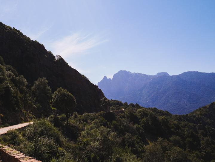 Corsica - road Calvi to Porto-7
