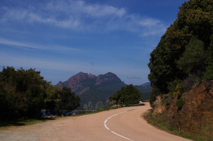 Corsica - road Calvi to Porto-9