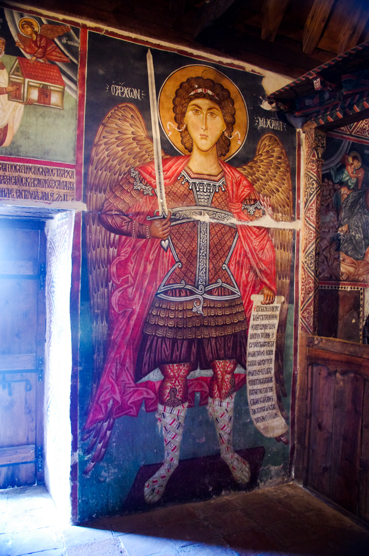 Archangel Michael - Pedoulas - Troodos Church - Cyprus - Michael