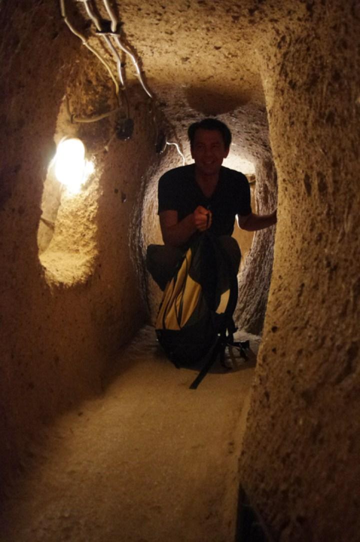 Kaymakli underground city - Cappadocia - Turkey -hallway