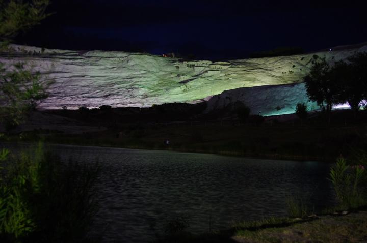 Pamukkale - Turkey-by night - lake