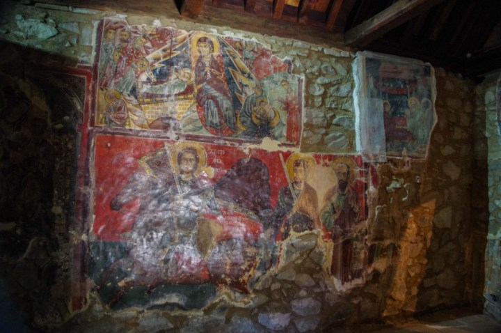 Panagia Moutoulla - Troodos Church - Cyprus-wall