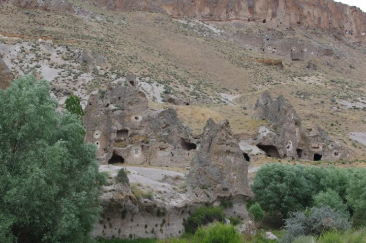 Soganly valley - church with deer - Geyikli kilise_