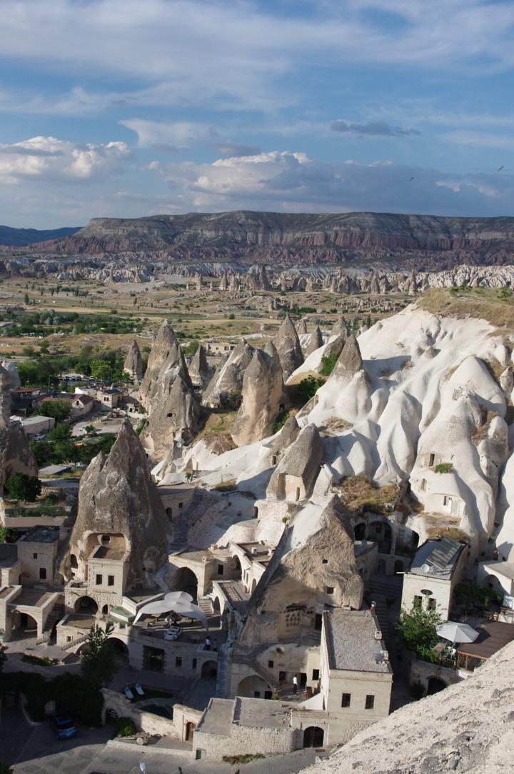 The Zemi Valley in Cappadocia, Turkey - view of Goreme