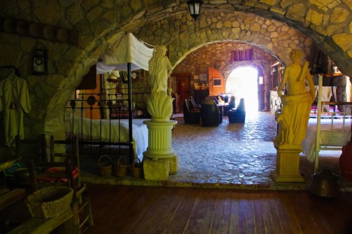 Adonis Baths - Cyprus-museum entrance