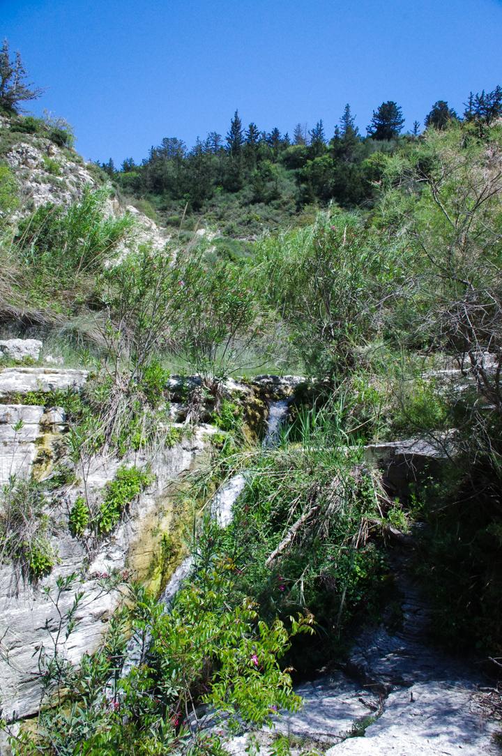Adonis Baths - Cyprus - waterfall