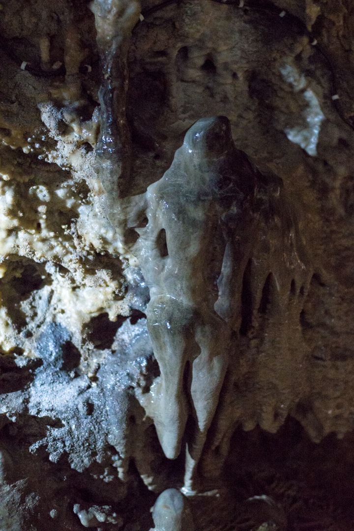 Caves Han - Belgium - man like figure