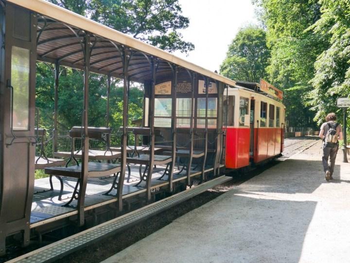 Caves Han - Belgium- the tram