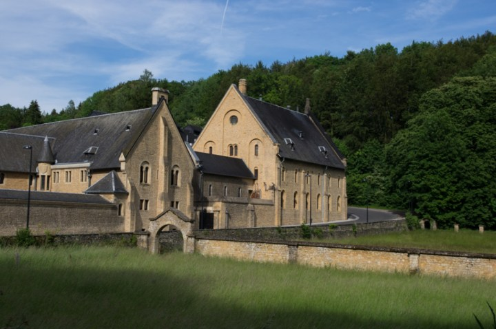 ORVAL - Belgium - actual monastery