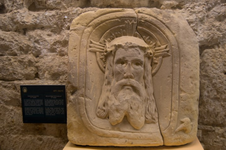 ORVAL- Belgium - inside museum - Jesus