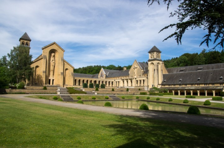 ORVAL - Belgium - view of the monastery